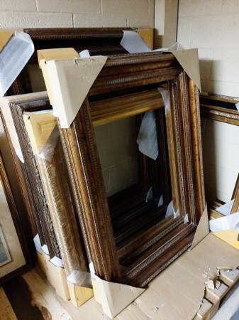 Solid wood frames